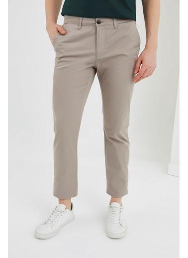 Z Giyim Likralı Keten Pantolon Vizon